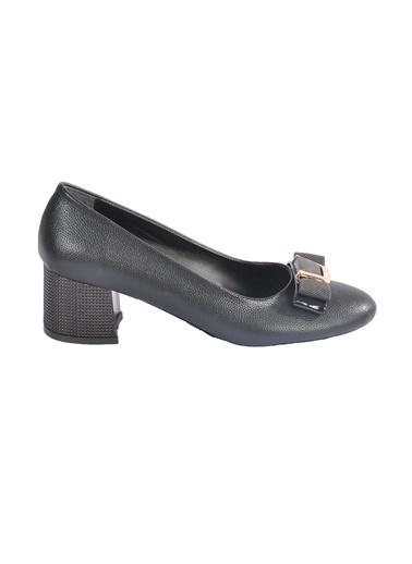Maje 2126 Siyah Kadın Topuklu Ayakkabı Siyah